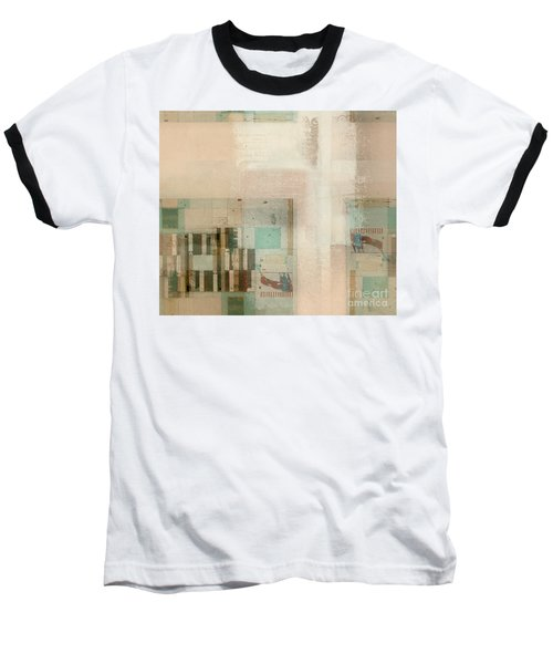 Baseball T-Shirt featuring the digital art Abstractitude - C01b by Variance Collections