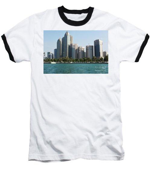 Baseball T-Shirt featuring the photograph Abu Dhabi by Hanza Turgul