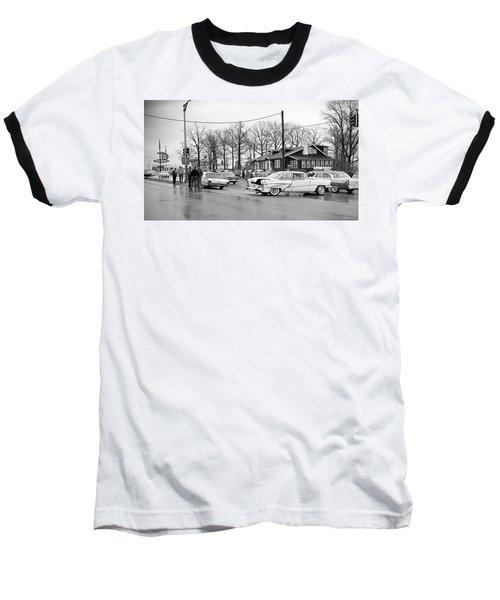 Accident 1 Baseball T-Shirt