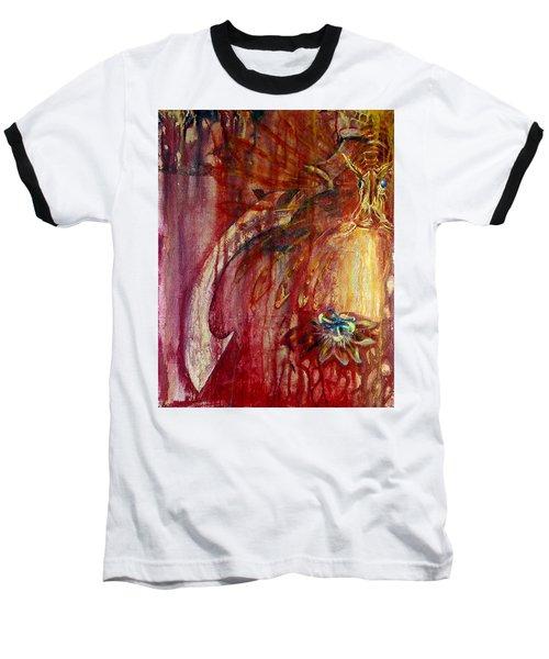 Ace Of Swords Baseball T-Shirt