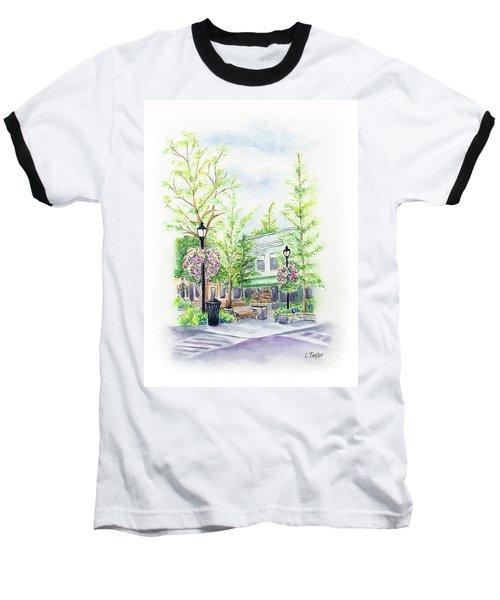 Across The Plaza Baseball T-Shirt