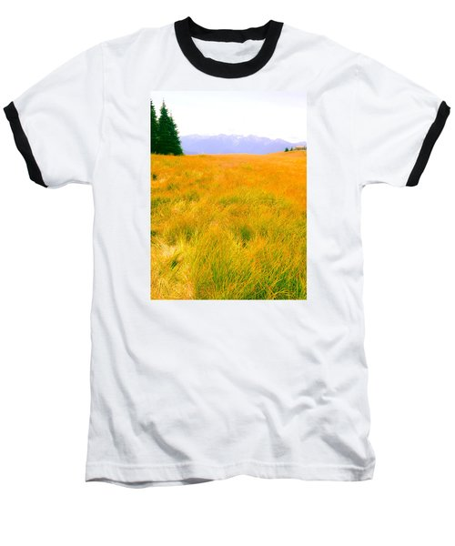 Baseball T-Shirt featuring the photograph Across The Summer Meadow by Ronda Broatch