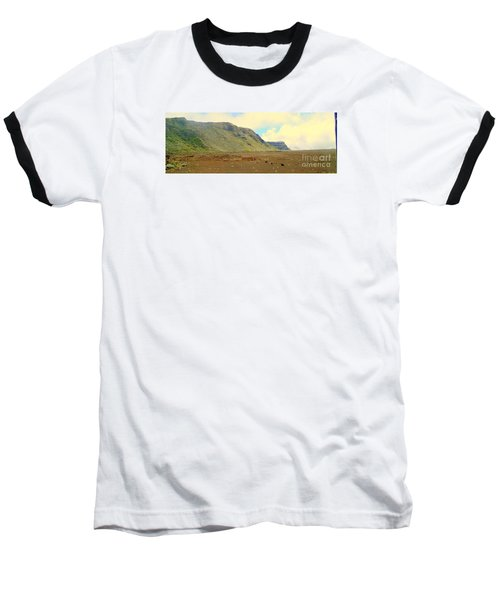 Active Volcano Baseball T-Shirt