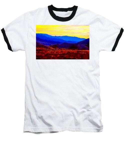 Acton California Sunset Baseball T-Shirt