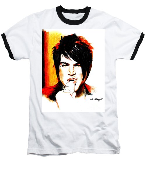 Adam Lambert Baseball T-Shirt
