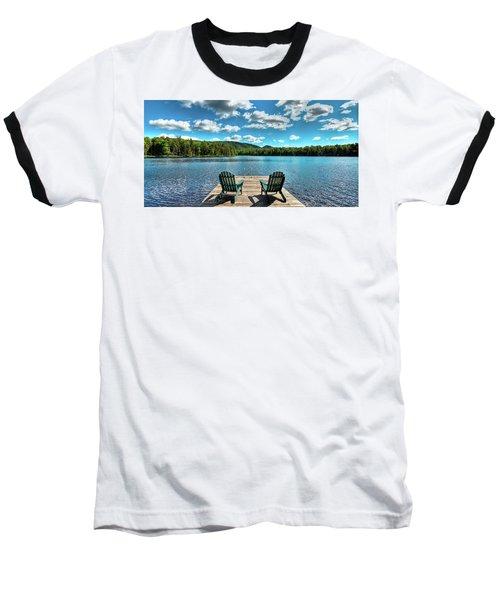 Adirondack Panorama Baseball T-Shirt