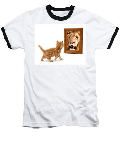 Admiring The Lion Within Baseball T-Shirt
