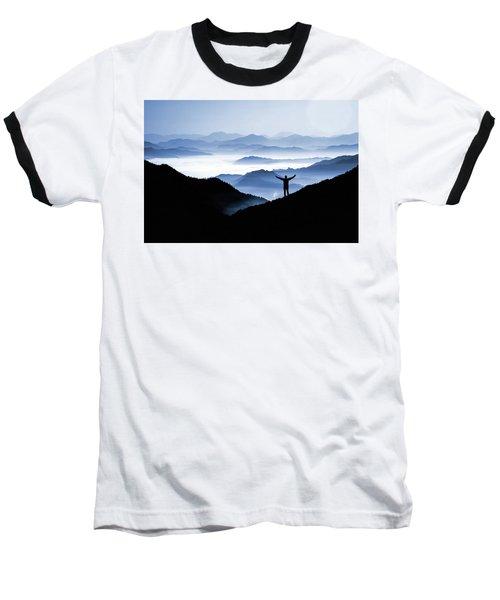Adoration Of Natural Beauty Baseball T-Shirt