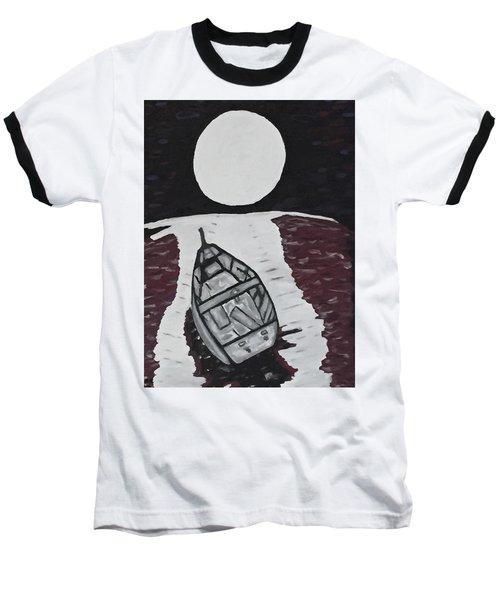 Adrift Baseball T-Shirt by Jonathon Hansen