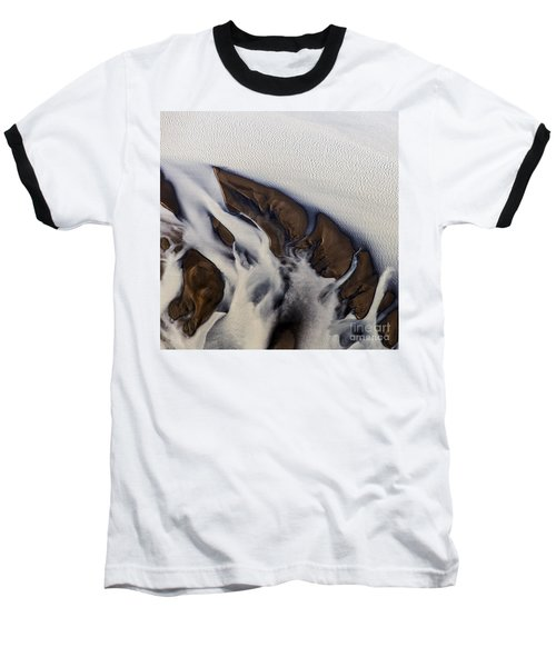 Aerial Photo Thjosa Iceland Baseball T-Shirt