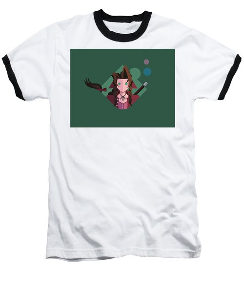 Baseball T-Shirt featuring the digital art Aeris by Michael Myers