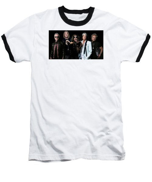 Aerosmith Baseball T-Shirt by Sean