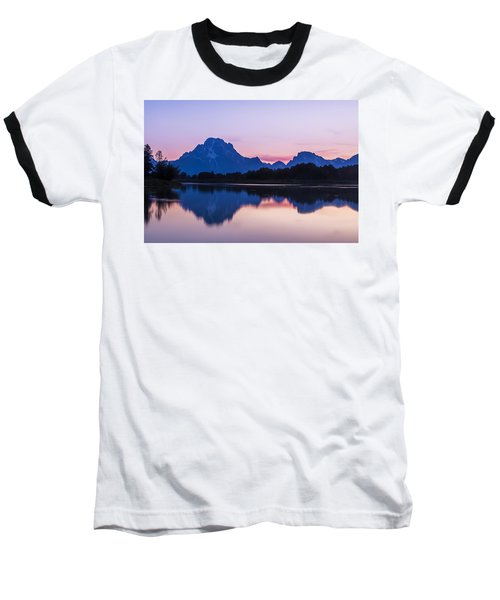 Baseball T-Shirt featuring the photograph After Glow by Andrew Soundarajan