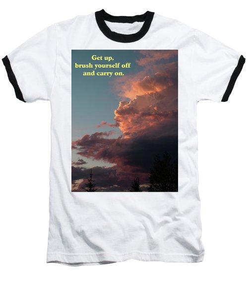After The Storm Carry On Baseball T-Shirt by DeeLon Merritt