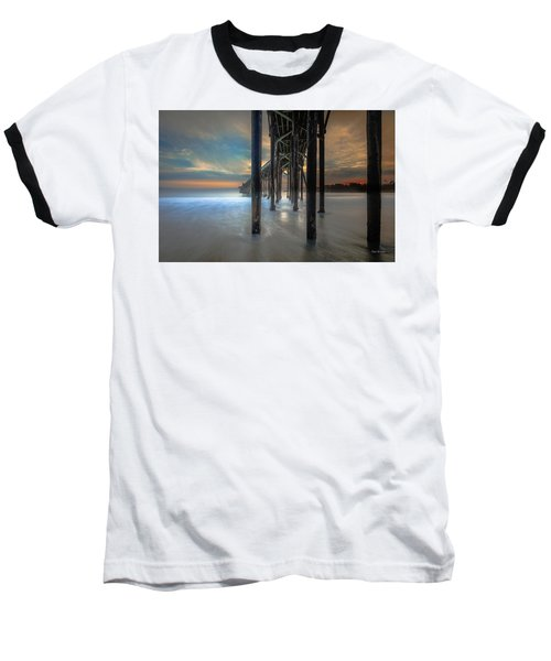Afterglow At San Simeon Baseball T-Shirt