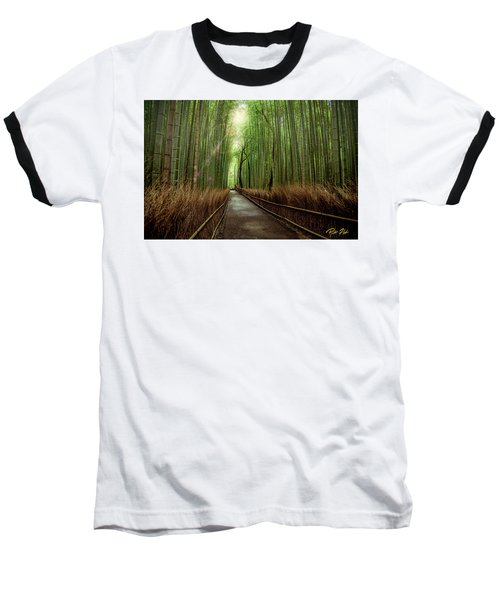 Afternoon In The Bamboo Baseball T-Shirt