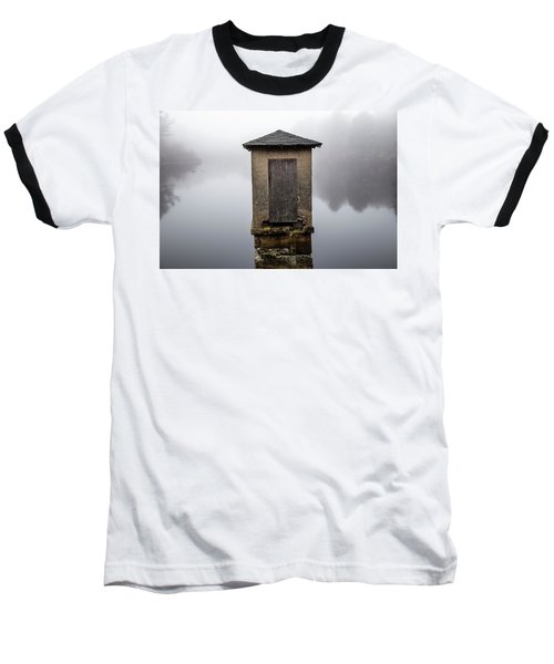 Baseball T-Shirt featuring the photograph Against The Fog by Karol Livote