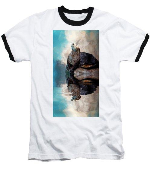 Ahhhhhhhh Baseball T-Shirt by Cyndy Doty