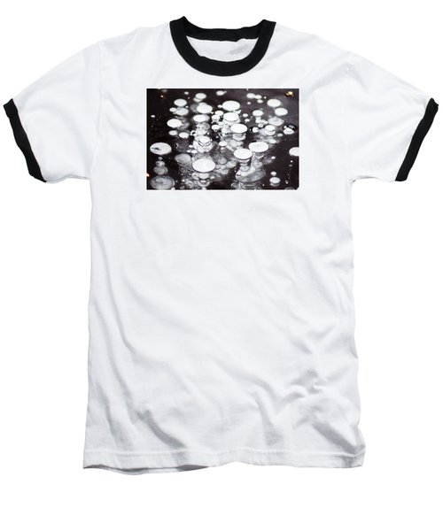 Air Trapped In Ice Baseball T-Shirt