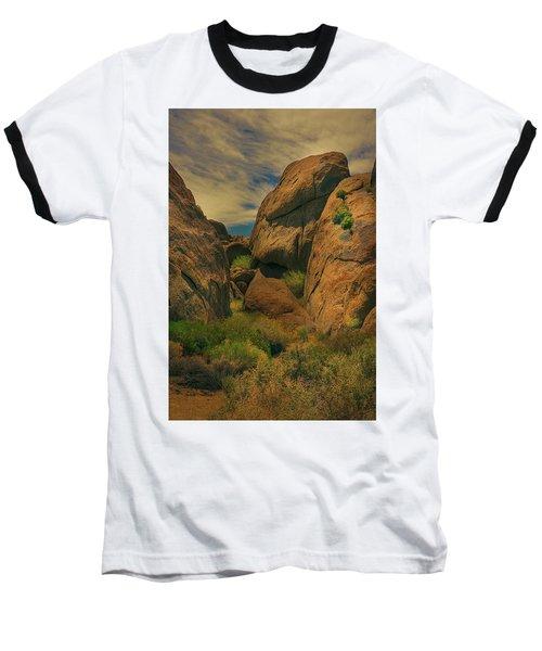 Alabama Hills - Eastern Sierras - Two Baseball T-Shirt