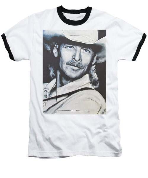 Alan Jackson - In The Real World Baseball T-Shirt