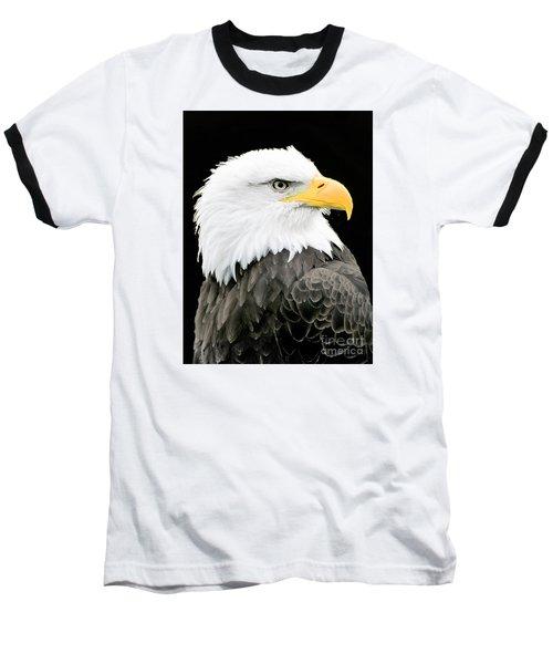Alaskan Bald Eagle Baseball T-Shirt