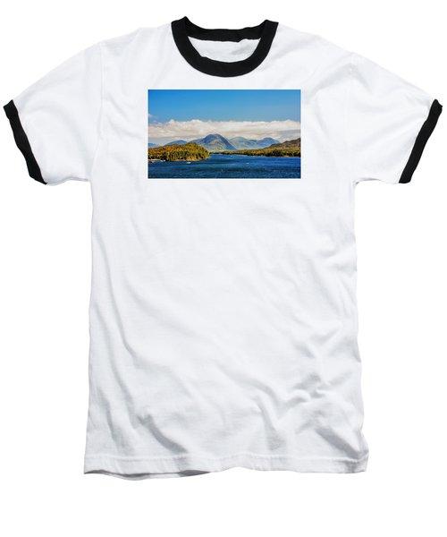 Alaskan Wilderness Baseball T-Shirt by Lewis Mann