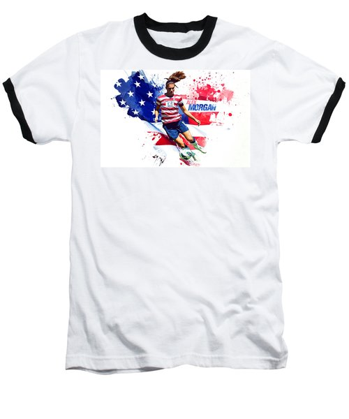 Alex Morgan Baseball T-Shirt