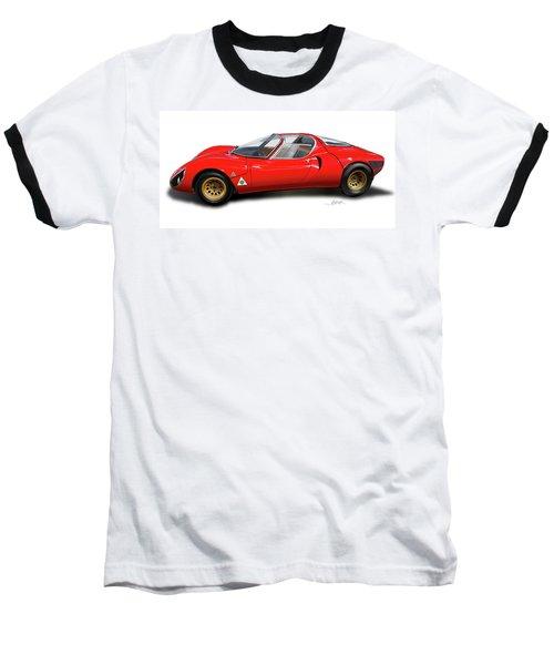 Alfa Romeo 33 Stradale 1967 Baseball T-Shirt