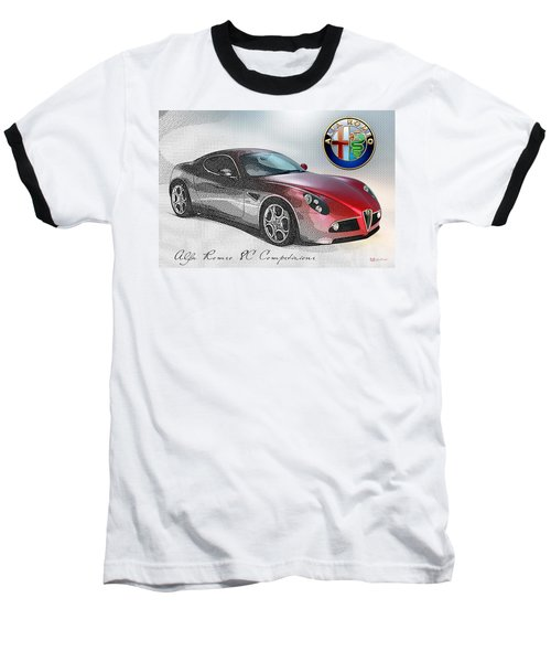 Alfa Romeo 8c Competizione  Baseball T-Shirt
