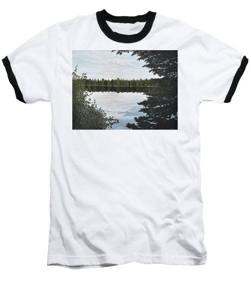 Algonquin Park Baseball T-Shirt by Kenneth M  Kirsch