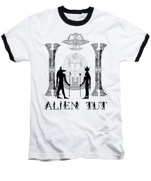 Baseball T-Shirt featuring the photograph Alien King Tut by Robert G Kernodle