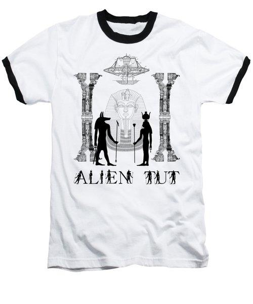 Alien King Tut Baseball T-Shirt