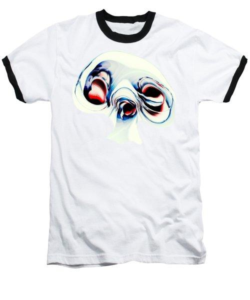 Alien Puppy Baseball T-Shirt
