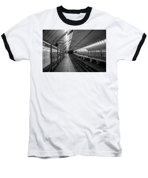 Baseball T-Shirt featuring the photograph All Aboard by Jason Moynihan
