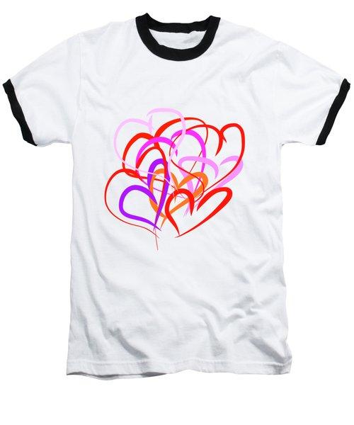 All About Love Baseball T-Shirt