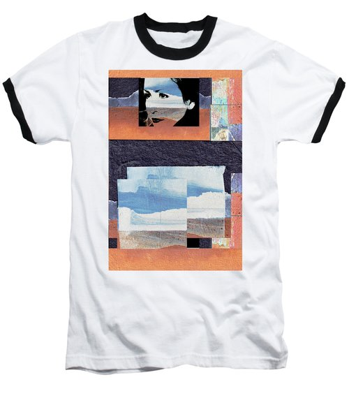 Baseball T-Shirt featuring the photograph All That We See Or Seem Is But A Dream Within A Dream, Even She by Danica Radman