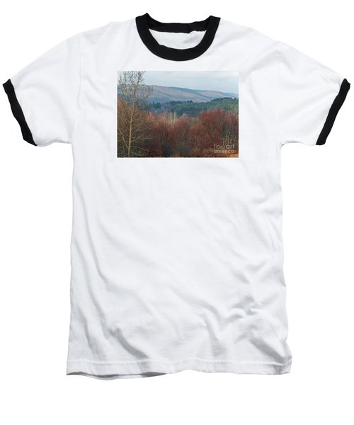 Allegany Rhapsody Baseball T-Shirt by Christian Mattison