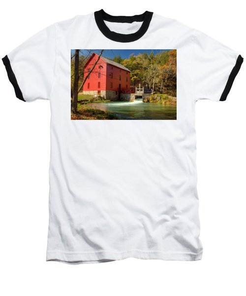 Baseball T-Shirt featuring the photograph Alley Mill by Harold Rau