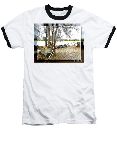 Almost Spring At Lafayette Lake Baseball T-Shirt