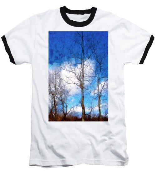 Almost Spring Baseball T-Shirt by Spyder Webb