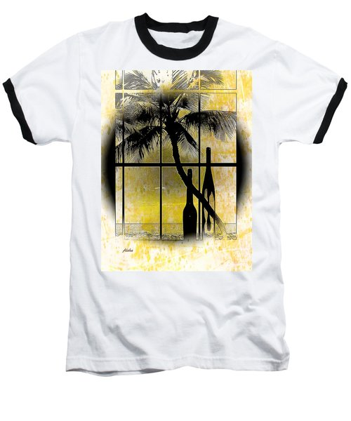 Aloha,from The Island Baseball T-Shirt by Athala Carole Bruckner