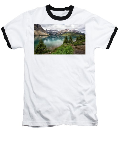 Along Icefields Parkway Baseball T-Shirt