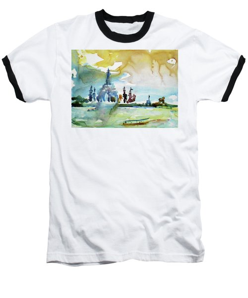 Along The Chao Phaya River Baseball T-Shirt