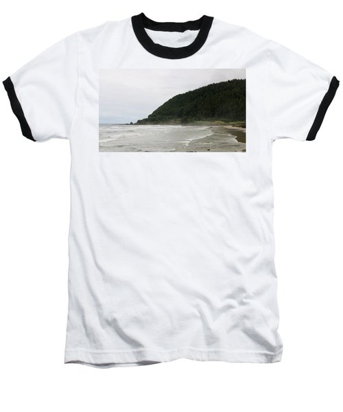 Along The Oregon Coast - 4 Baseball T-Shirt