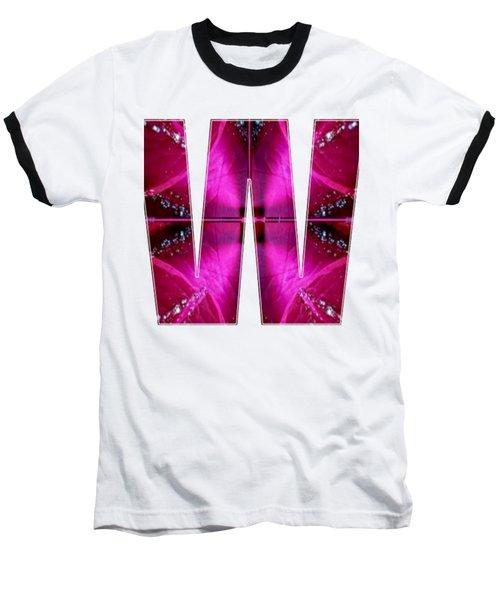 Alpha Art On Shirts Alphabets Initials   Shirts Jersey T-shirts V-neck Sports Tank Tops Navinjoshi  Baseball T-Shirt by Navin Joshi