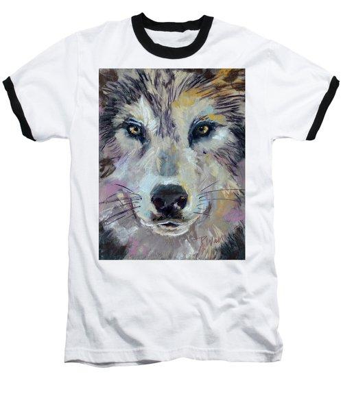 Alpha Baseball T-Shirt by Pattie Wall