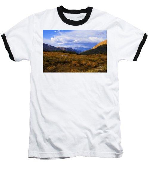 Alpine Pond Baseball T-Shirt