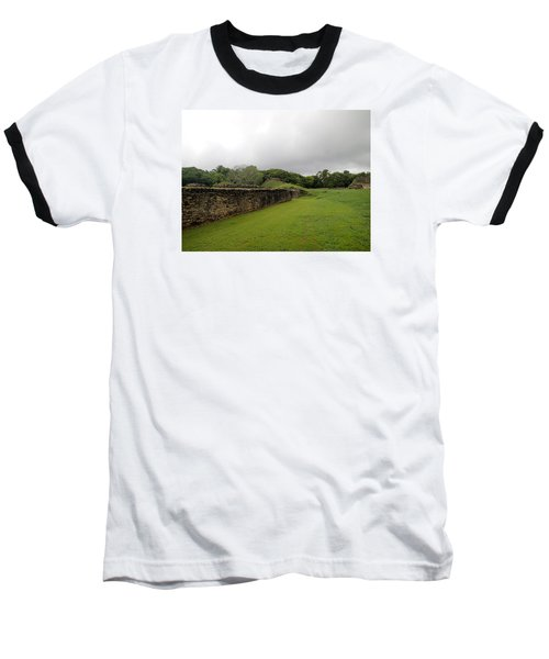 Altun Ha #1 Baseball T-Shirt by Lois Lepisto