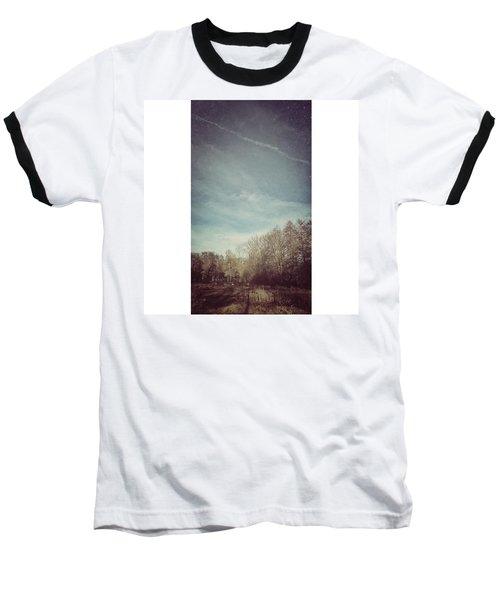 Am Himmel Die Wolken  #wolken #himmel Baseball T-Shirt